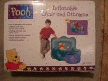 Pooh Bear flatable sofa & ottoman in Houston, Texas